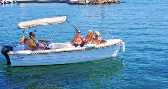 Alquiler Lancha Silver con título de navegación