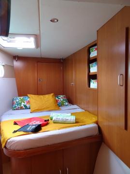 Alquiler de Catamarán, con o sin patrón Leopard Le Marin